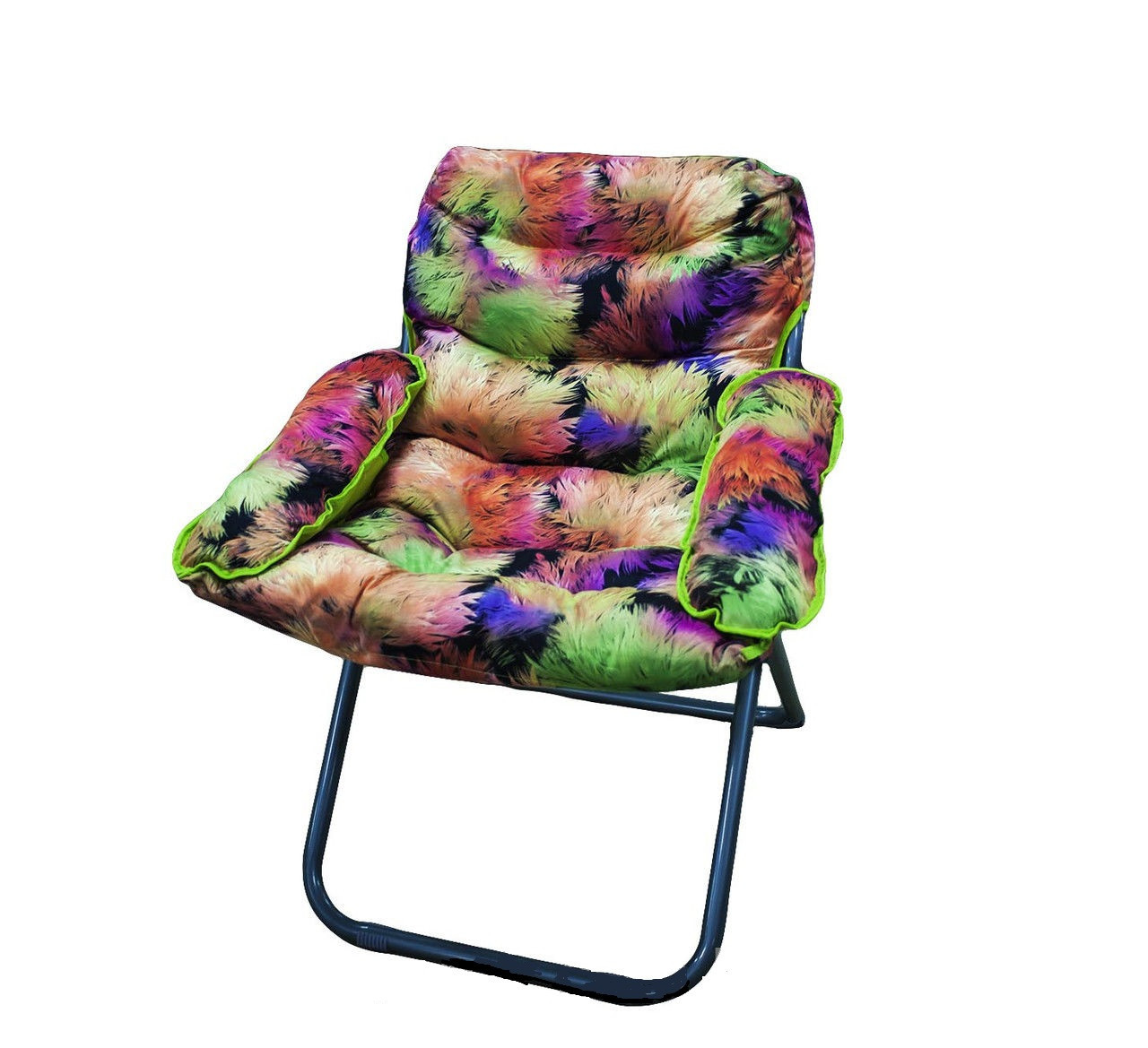 Кресло, 73 * 97 см, яркий павлин