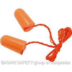 Противошумные вкладыши,беруши со шнурком, марки:kazat 2524