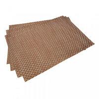 0647 FISSMAN Комплект из 4 сервировочных ковриков на обеденный стол 45x30 см (ПВХ)