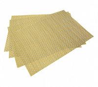 0648 FISSMAN Комплект из 4 сервировочных ковриков на обеденный стол 45x30 см (ПВХ)