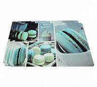 0657 FISSMAN Комплект из 4 сервировочных ковриков на обеденный стол 43,5x28,5 см (пластик)