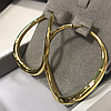 Золотые серьги - конго / Roberto Bravo, фото 2