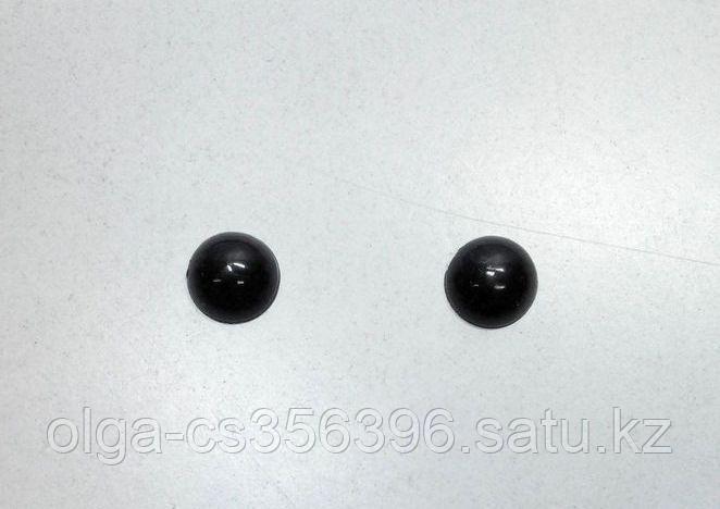 Носик для игрушек. Глазки. Черный.8 мм.  Creativ 2031