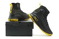 """Баскетбольные кроссовки Under Armour Curry IV """"Black/Yellow"""" (36-46), фото 6"""