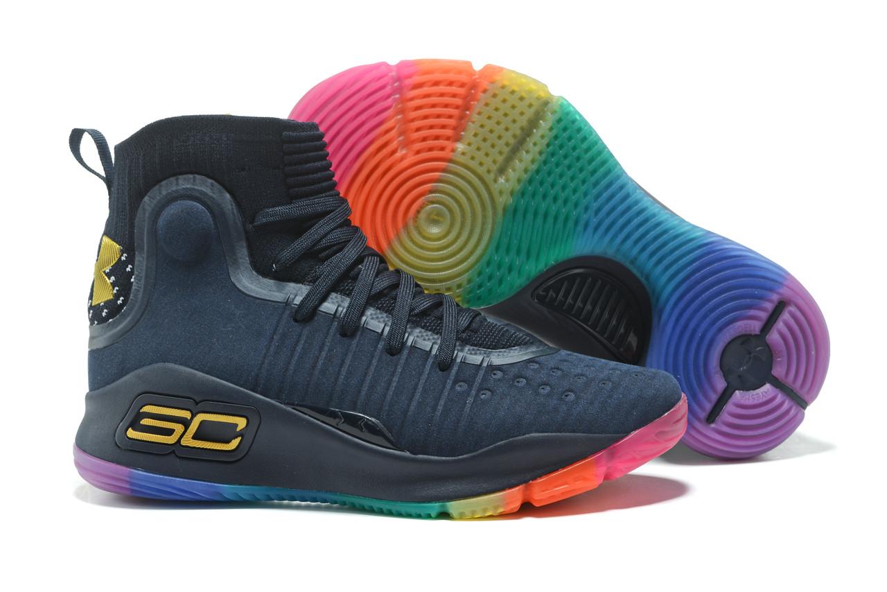 """Баскетбольные кроссовки Under Armour Curry IV """"Multicolor"""" (36-46)"""