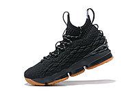 "Баскетбольные кроссовки Nike LeBron XV (15) ""Black/Gym"" (40-46), фото 3"