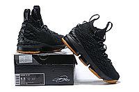 """Баскетбольные кроссовки Nikе LeBron XV (15) """"Black/Gym"""" (40-46), фото 6"""
