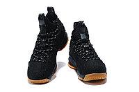 """Баскетбольные кроссовки Nikе LeBron XV (15) """"Black/Gym"""" (40-46), фото 4"""