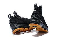 """Баскетбольные кроссовки Nikе LeBron XV (15) """"Black/Gym"""" (40-46), фото 5"""