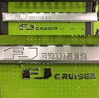 Молдинги дверей на FJ Cruiser 2007-17