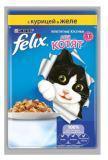 Felix, Котята Курица 85г, Феликс Влажный корм для котят Аппетитные кусочки