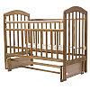 Детская кроватка Топотушки Лира 5 орех