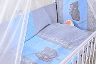 Комплект в кровать GulSara Голубой, фото 1