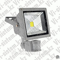 LED-Прожектор 50W с датчиком движения Серый