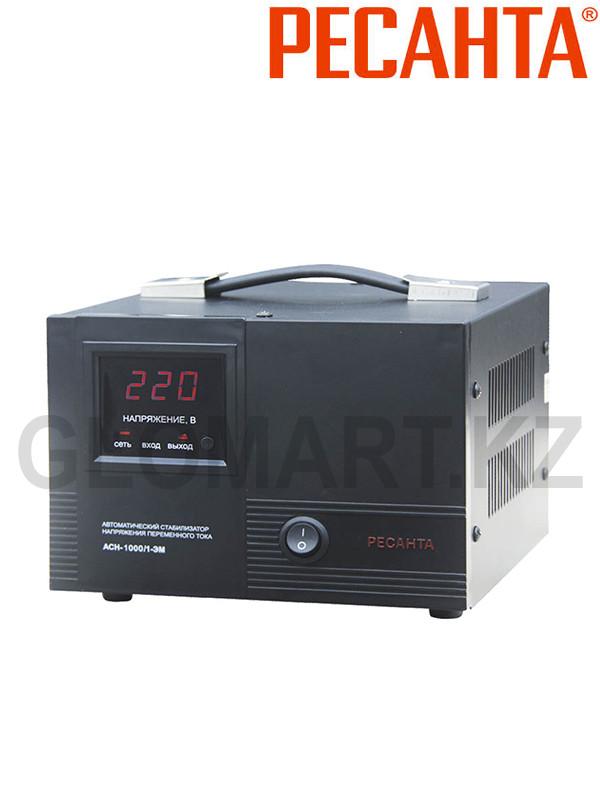 Стабилизатор однофазный Ресанта АСН-1000/1-ЭМ