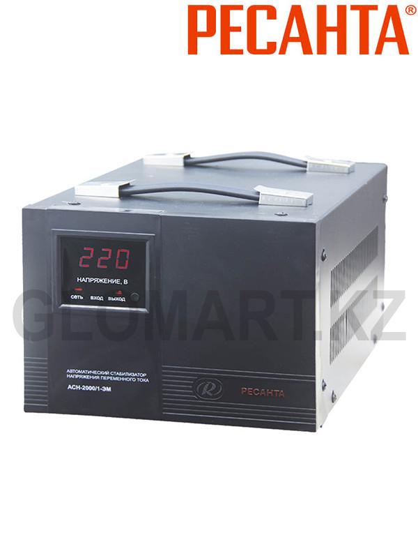 Стабилизатор напряжения Ресанта АСН-2000/1-ЭМ, 2 кВт