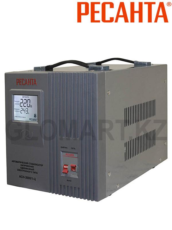 Трансформатор электронный Ресанта АСН-3000/1-Ц