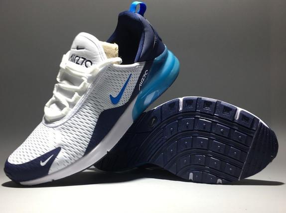 "Кроссовки Nike Air Max 270 ""White -Blue"" - фото 2"