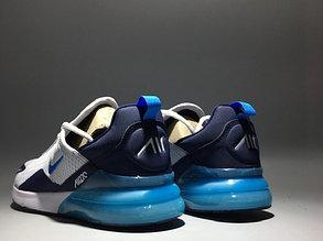 "Кроссовки Nike Air Max 270 ""White -Blue"", фото 2"