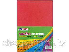 Бумага ксероксная А4 Yalong,10 цветов,100л