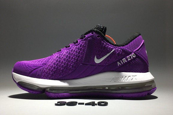 "Кроссовки Nike Air Max 270 ""Purple"" - фото 3"