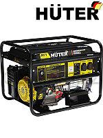 Движок с электростартером Huter DY6500LX   (Хутер)