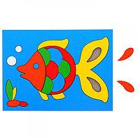 """Детская Головоломка """"Собери картинку: рыбка"""", 22 элементов"""