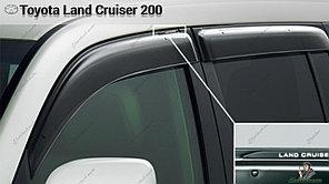 Оригинальные Ветровики (дефлекторы окон) Toyota Land Cruiser 200 2007-2015