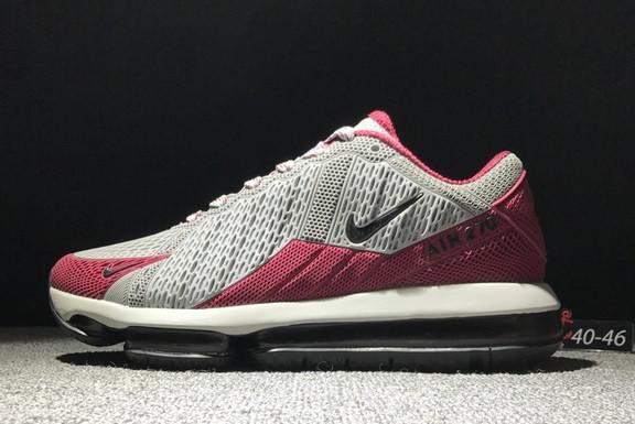 "Кроссовки Nike Air Max 270 ""Grey-Red"""