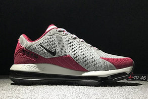 "Кроссовки Nike Air Max 270 ""Grey-Red"", фото 2"