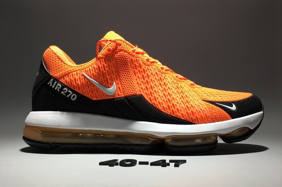 "Кроссовки Nike Air Max 270 Flair ""Orange"" - фото 2"