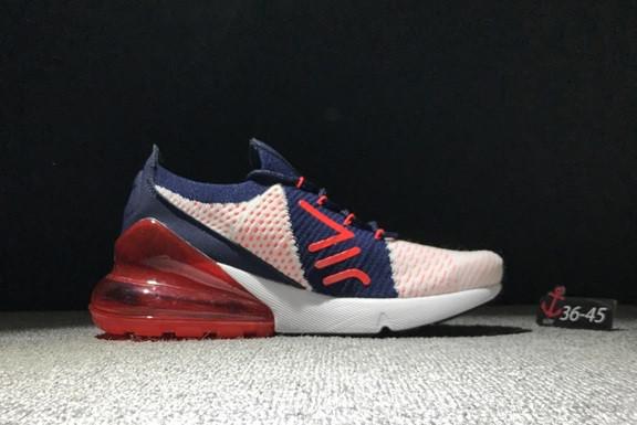 "Кроссовки Nike Air Max 270 ""Red-Dark blue"" - фото 2"