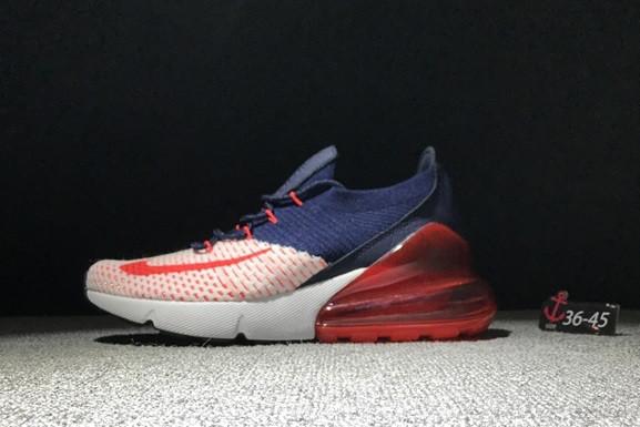 "Кроссовки Nike Air Max 270 ""Red-Dark blue"" - фото 1"