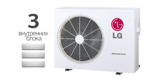 Мульти сплит-система LG MU3M21