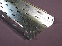 Кабельные лотки перфорированные беззамкового типа КП 500*50 S=1мм Sz, фото 1