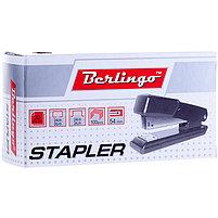Степлер №24/6, 26/6 Berlingo до 20л., металлический корпус, полузагрузочный., фото 3