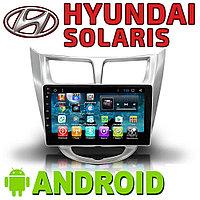 Автомагнитола AutoLine Hyundai Solaris Accent Android., фото 1