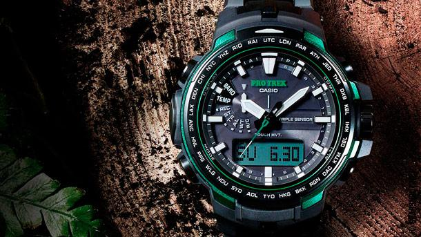 Часы Casio Pro Trek