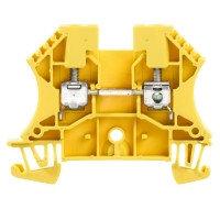 WDU 4 Проходная клемма, Винтовое соединение, 4 mm², 800 V, 32 A, Темно-бежевый Weidmuller, фото 3