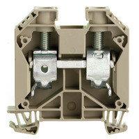 WDU 35 Проходная клемма, Винтовое соединение, 35 mm², 1000 V, 125 A, Темно-бежевый Weidmuller