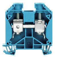 WDU 35 Проходная клемма, Винтовое соединение, 35 mm², 1000 V, 125 A, Темно-бежевый Weidmuller, фото 2