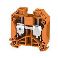 WDU 35 Проходная клемма, Винтовое соединение, 35 mm², 1000 V, 125 A, Темно-бежевый Weidmuller, фото 3