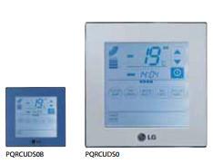 Сенсорный проводной пульт управления Deluxe PQRCUDS0 / PQRCUDS0B (синий) / PQRCUDS0S (серебристый)
