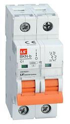 Миниатюрные автоматические выключатели BKN-b 2P (1-63A)