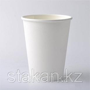 Бумажные стаканы 350мл ( Белый KZP)