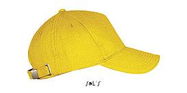 Бейсболка | Sols Long Beach Желтая