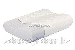 Ортопедическая подушка с ребристой поверхностью