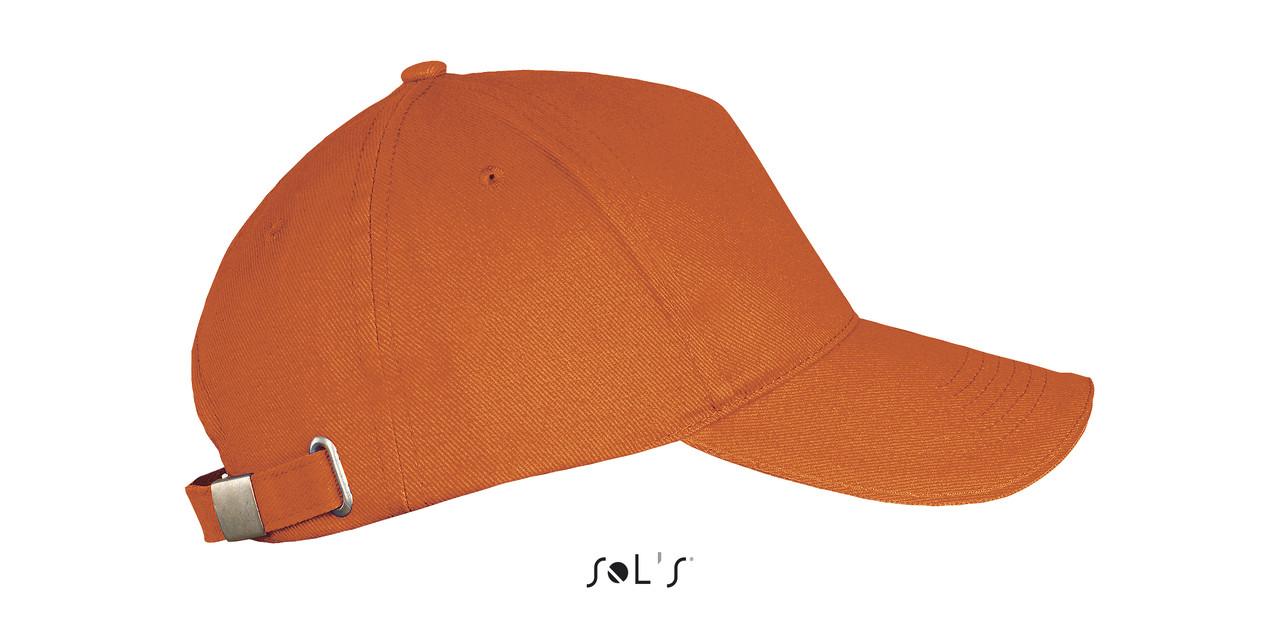 Бейсболка | Sols Long Beach Оранжевая