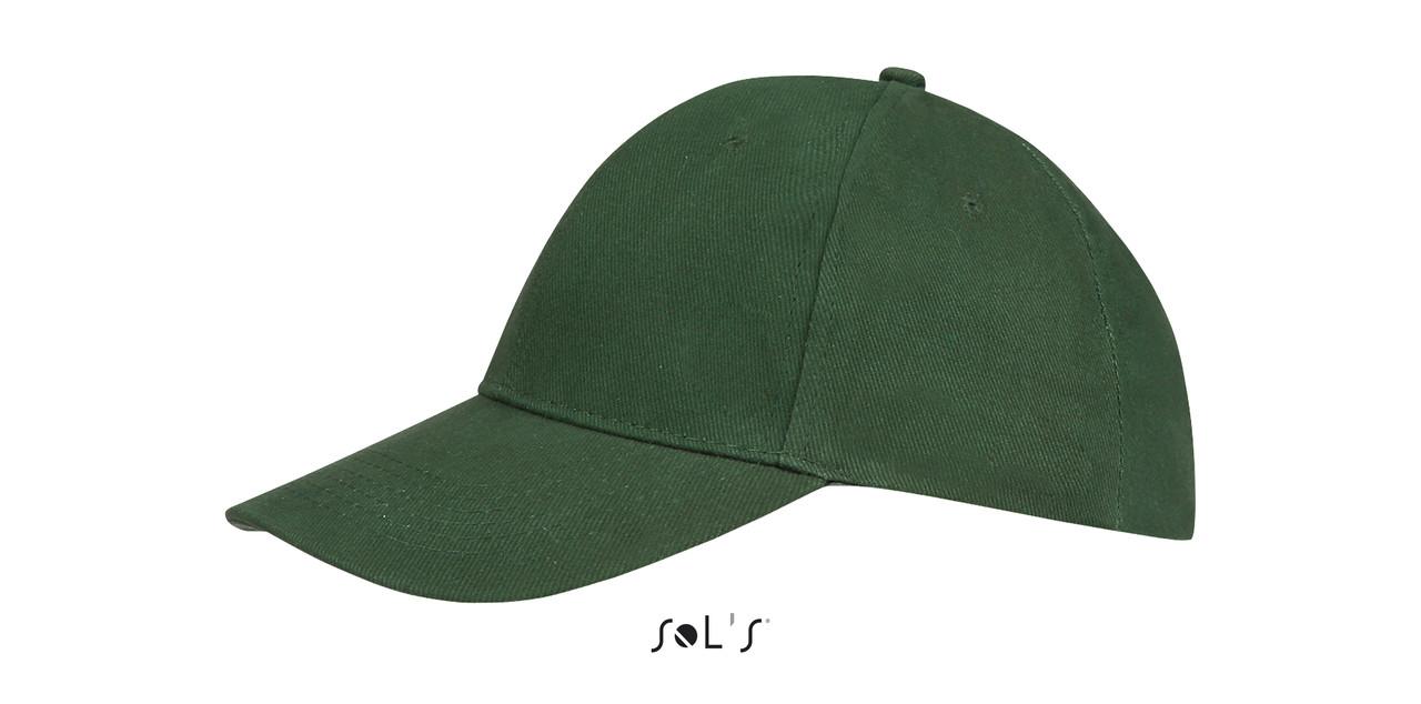 Кепка   Sols Buffalo Темно зеленая