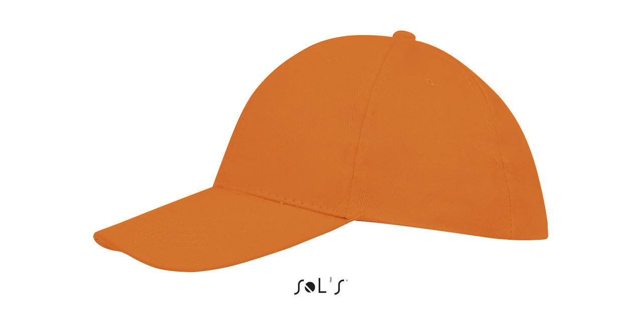 Кепка | Sols Buffalo Оранжевая